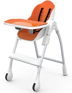 Oribel Cocoon High Chair - Orange