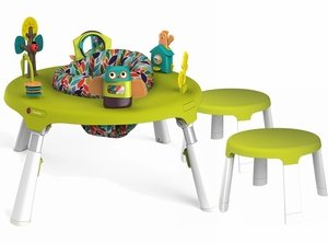 Oribel PortaPlay 4-in-1 Foldable Activity Center & Stools - Forest Friends