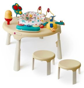 Oribel Portaplay 4-in-1 Grow With Me Activity Center & Stools - Monsterland
