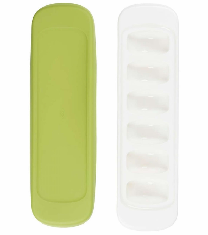 Oxo Tot Baby Food Freezer Tray 2 Pack Green