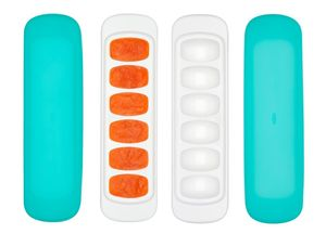 OXO Tot Baby Food Freezer Tray With Silicone Lid, 2 Pack