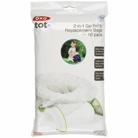 OXO Tot Go Potty Replacement Bags - 10 Pack