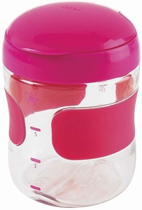 OXO Tot Large Flip Top Snack Cup - Pink