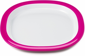 OXO Tot Melamine Plate - Pink