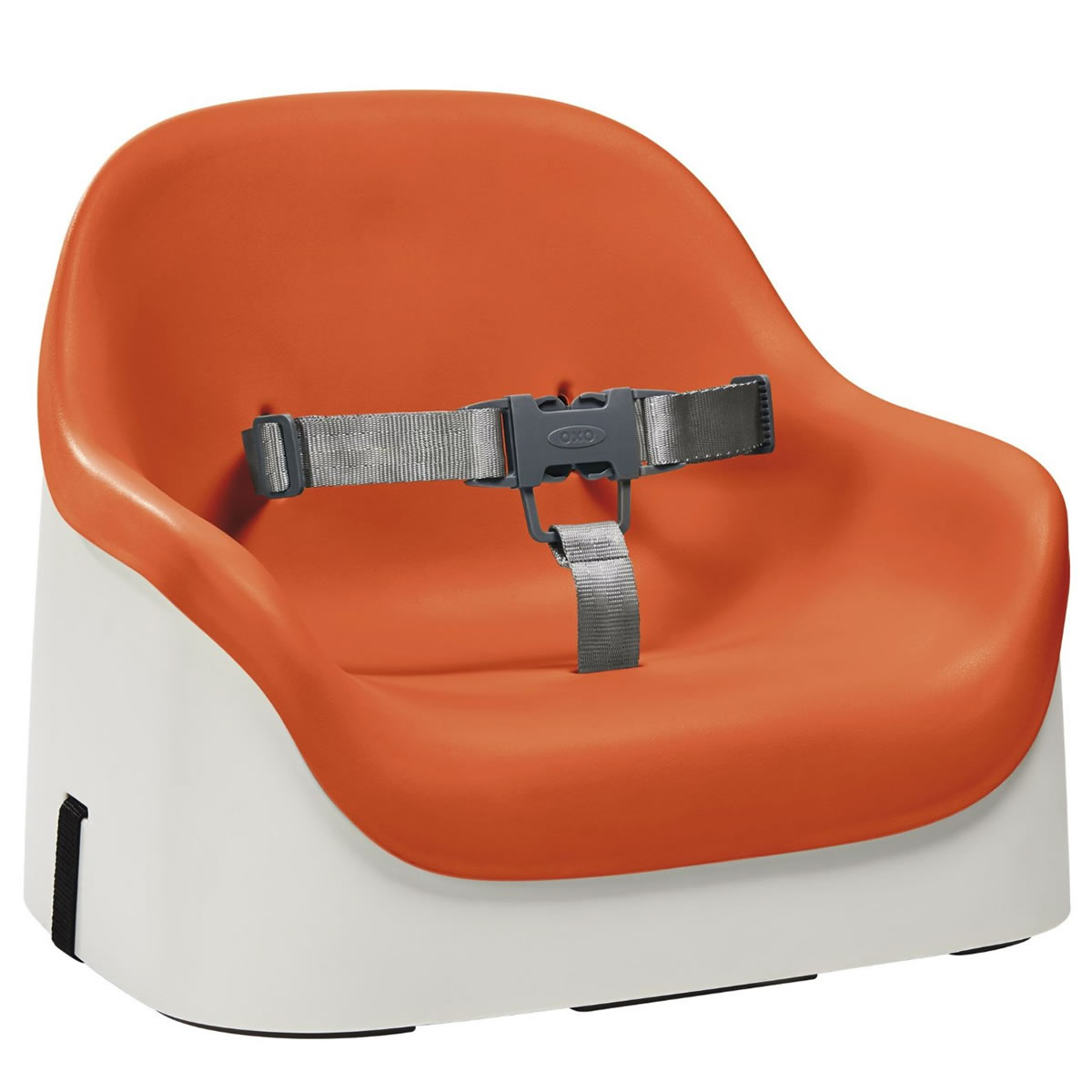 Oxo Tot Nest Portable Booster Chair With Straps Orange