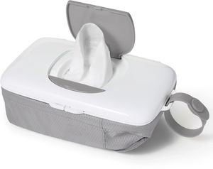 OXO Tot On-The-Go Wipes Dispenser with Diaper Pouch - Gray