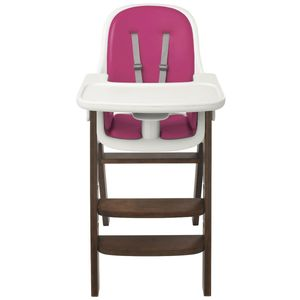 OXO Tot Sprout High Chair - Pink/Walnut