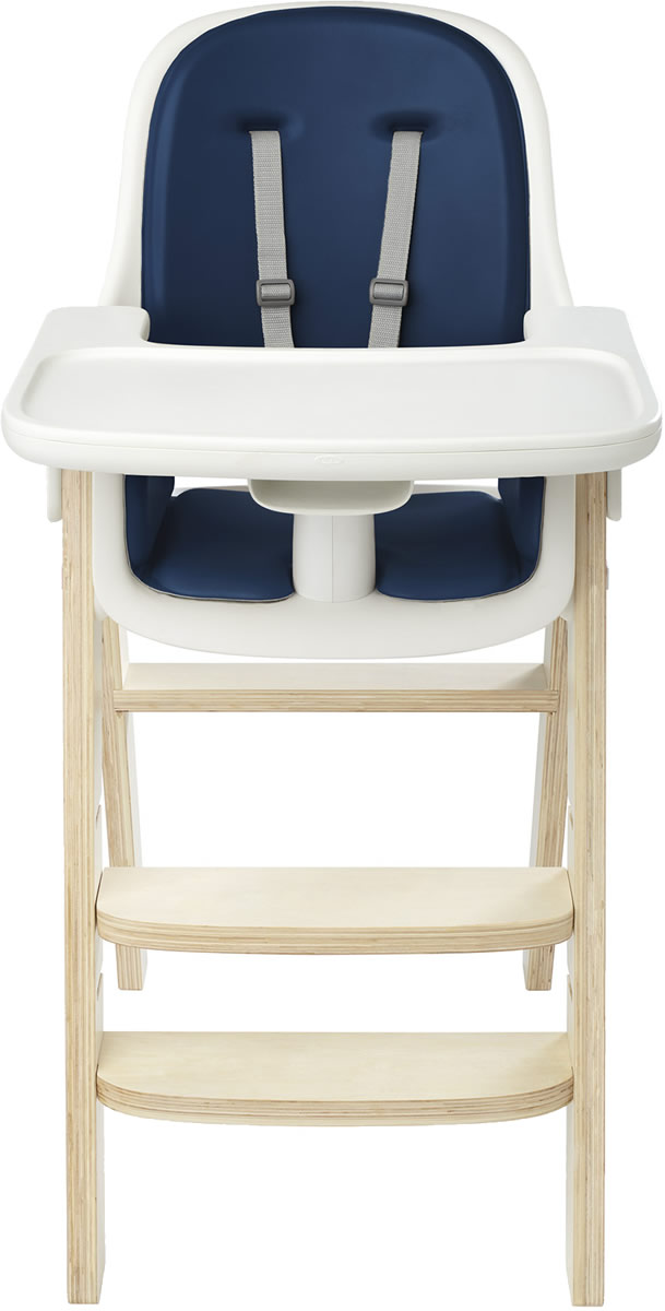 Incredible Oxo Tot Sprout High Chair Navy Birch Beatyapartments Chair Design Images Beatyapartmentscom