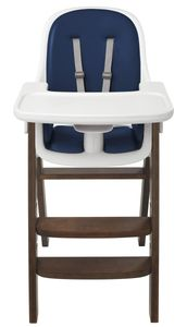 OXO Tot Sprout High Chair - Navy / Walnut