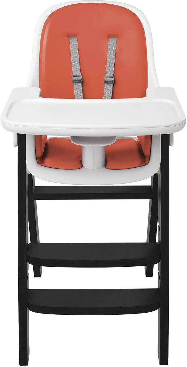 Oxo Tot Sprout High Chair Orange Black