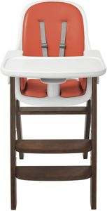 OXO Tot Sprout High Chair - Orange/Walnut