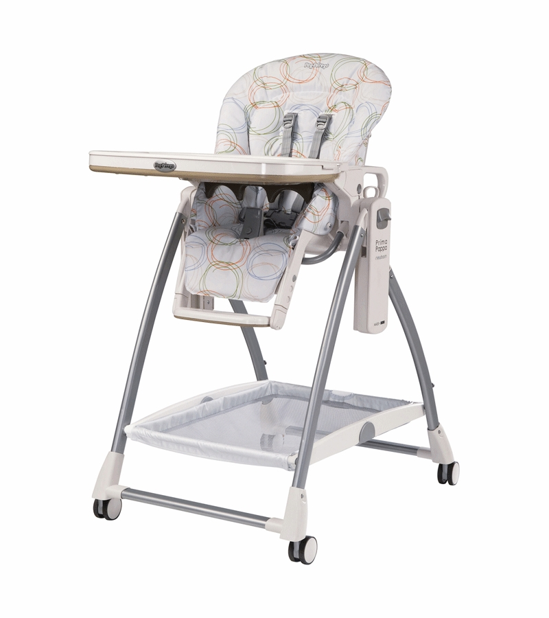 Admirable Peg Perego 2010 Prima Pappa Newborn High Chair In Circles Color With Upholstery Defect Machost Co Dining Chair Design Ideas Machostcouk