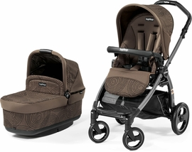 Peg Perego Book Pop Up Stroller - Circles Choco
