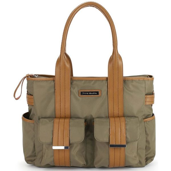 Perry Mackin Zoey Diaper Bag in Olive