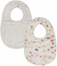 Petit Pehr Bibs, Set of 2 - Meadow / Showers