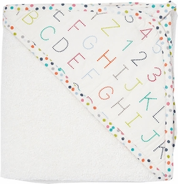 Petit Pehr Hooded Towel - Alphabet