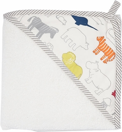 Petit Pehr Hooded Towel - Noah's Ark