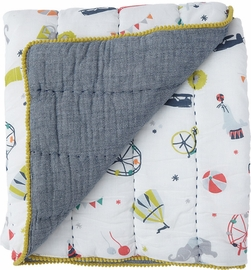 Petit Pehr Quilted Blanket - Big Top