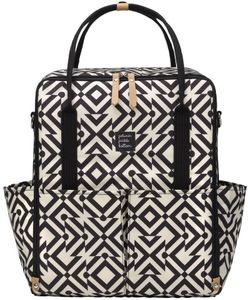 Petunia Pickle Bottom Inter-Mix Backpack Diaper Bag  - Mazes of Milano