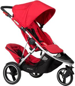 Phil & Teds Dash Double Stroller - Red