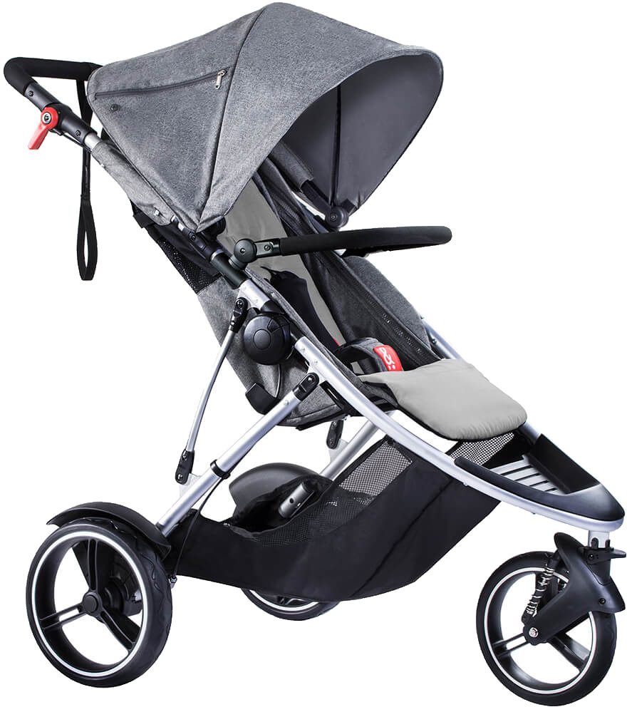 Phil Teds Dash Stroller Grey