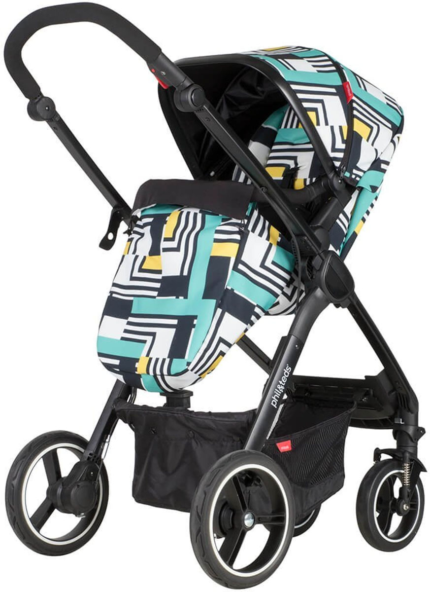 Phil Teds Mod Stroller Abstract
