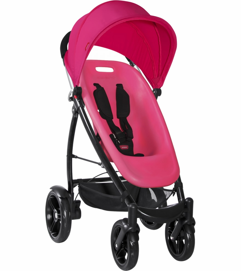 Phil Teds Smart Buggy In Hot Pink