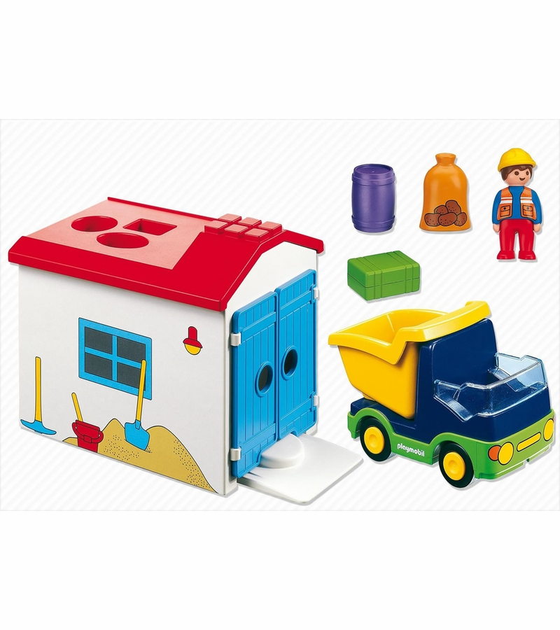 Playmobil Truck With Garage