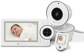 "Project Nursery 4.3� Baby Monitor System with 1.5"" Mini Monitor"