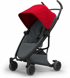 Quinny Zapp Flex Stroller - Red/Graphite