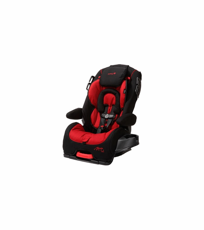 Safety 1st Alpha Omega Elite Convertible Car Seat In Red Black