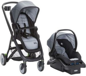 Safety 1st Riva 6-in-1 Flex Travel System - Carbon Copy