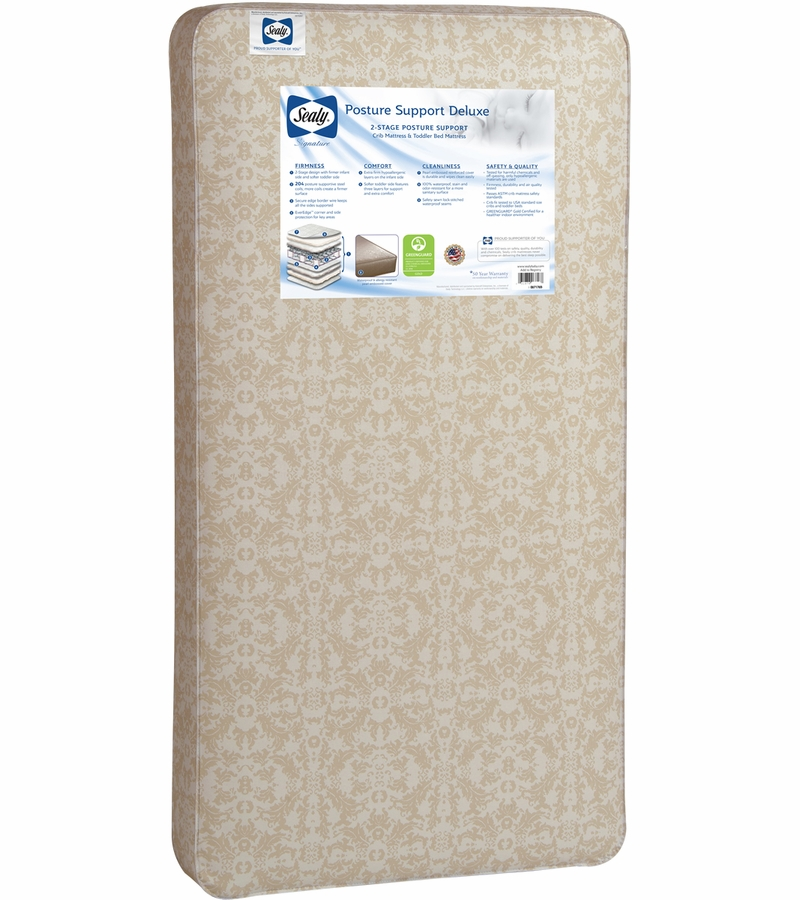 Sealy Posture Support Deluxe 2 Stage Crib Mattress