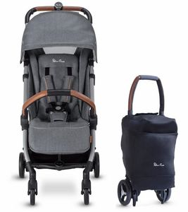 Silver Cross Jet Ultra Compact Stroller, Special Edition - Mist