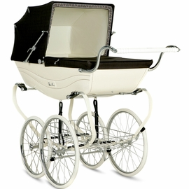 Silver Cross Balmoral Classic Pram - Cream & Brown