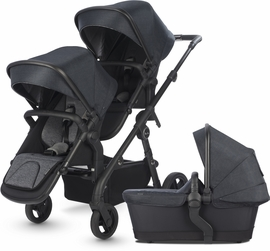 Silver Cross Coast Double Stroller - Flint