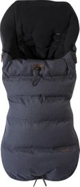 Silver Cross Wave Premium Footmuff - Midnight Blue