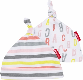 Skip Hop ABC-123 Baby Hat Set - Pink