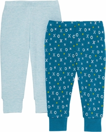 Skip Hop ABC-123 Baby Pants Set - Blue (6 Months)