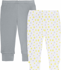 Skip Hop ABC-123 Baby Pants Set - Grey (6 Months)