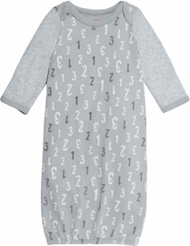 Skip Hop ABC-123 Gown - Grey