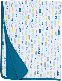 Skip Hop ABC-123 Reversible Welcome Blanket - Blue