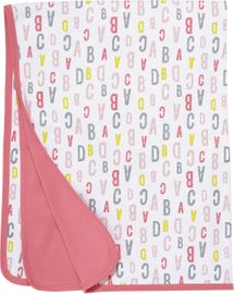 Skip Hop ABC-123 Reversible Welcome Blanket - Pink