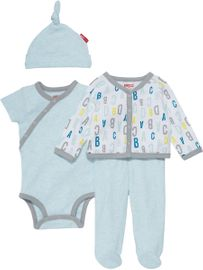 Skip Hop ABC-123 Welcome Home 4-Piece Set - Blue (Newborn)