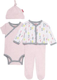 Skip Hop ABC-123 Welcome Home 4-Piece Set - Pink (3 Months)