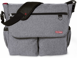 Skip Hop Dash Signature Diaper Bag - Heather Grey