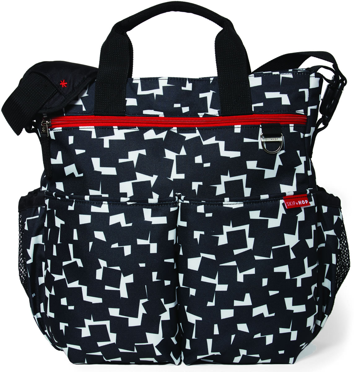 a508d4555f1d3 Skip Hop Duo Signature Diaper Bag - Cubes
