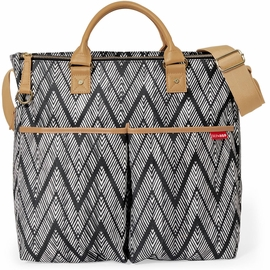 Skip Hop Duo Signature Diaper Bag, Special Edition - Zig Zag Zebra
