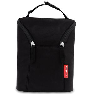 Skip Hop Grab & Go Double Bottle Bag - Black