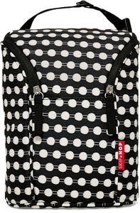 Skip Hop Grab & Go Double Bottle Bag - Connected Dots